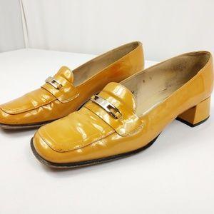 Etienne Aigner Aquarius Vintage Style Chunky Heel